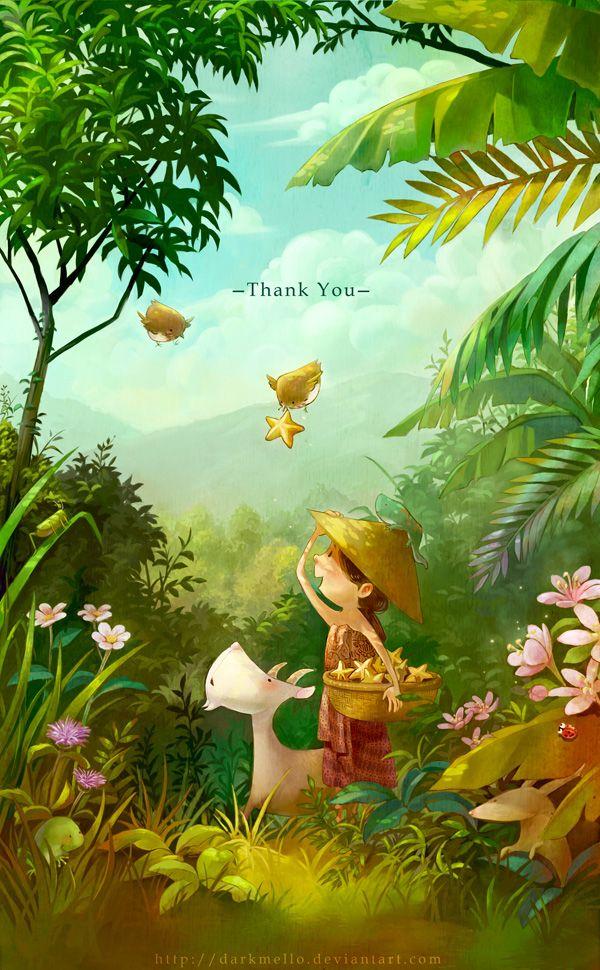 Добрые иллюстрации от Мелани Си (27 иллюстраций ...