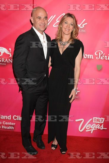 Andre Agassi And Steffi Graf Mensch