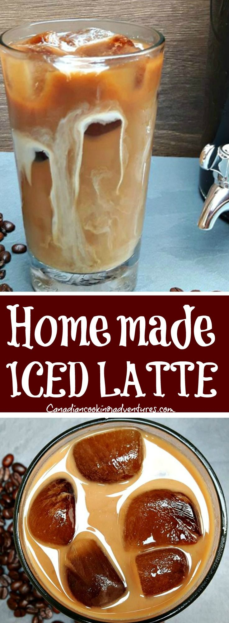 Iced Latte in 2019 Iced latte, Coffee recipes, Fun easy