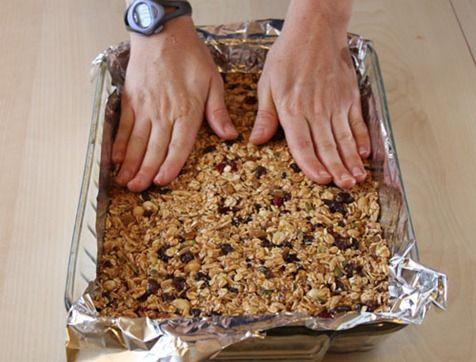 Barritas De Cereales Light Recetas Fáciles Bloghogar Com Homemade Granola Bars Food Homemade Granola