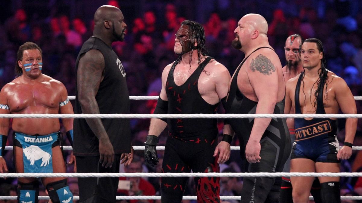 If Shaq Doesn T Get In The Ring With Big Show Which Athlete Would
