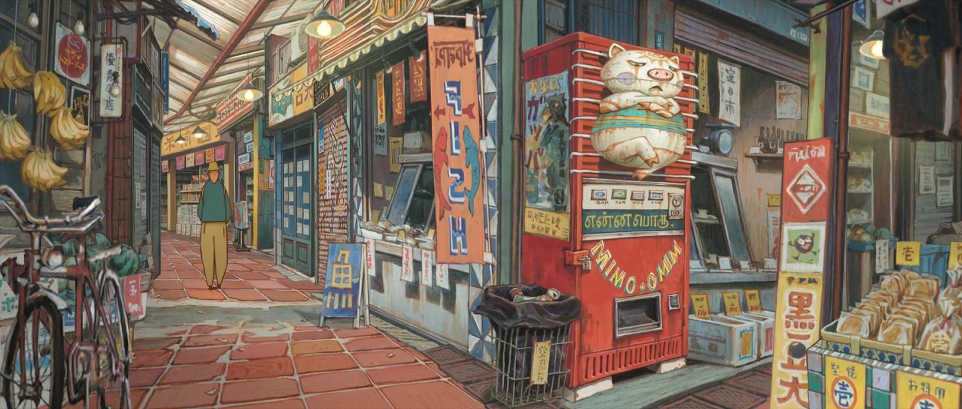 Tekkon Kinkreet Background Art Environment Concept Art Anime Background Anime Scenery