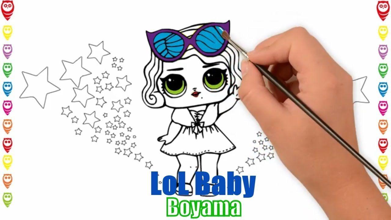 Lol Baby Funny Lol Bebek Eglenceli Boyama Ve Cizim Sayfasi