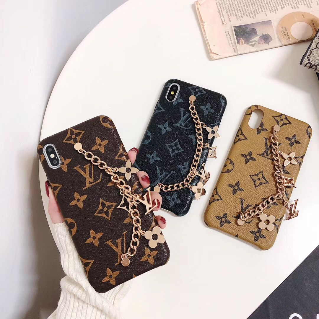 Louis vuitton iphone xs max case charms iphone 7 8 plus