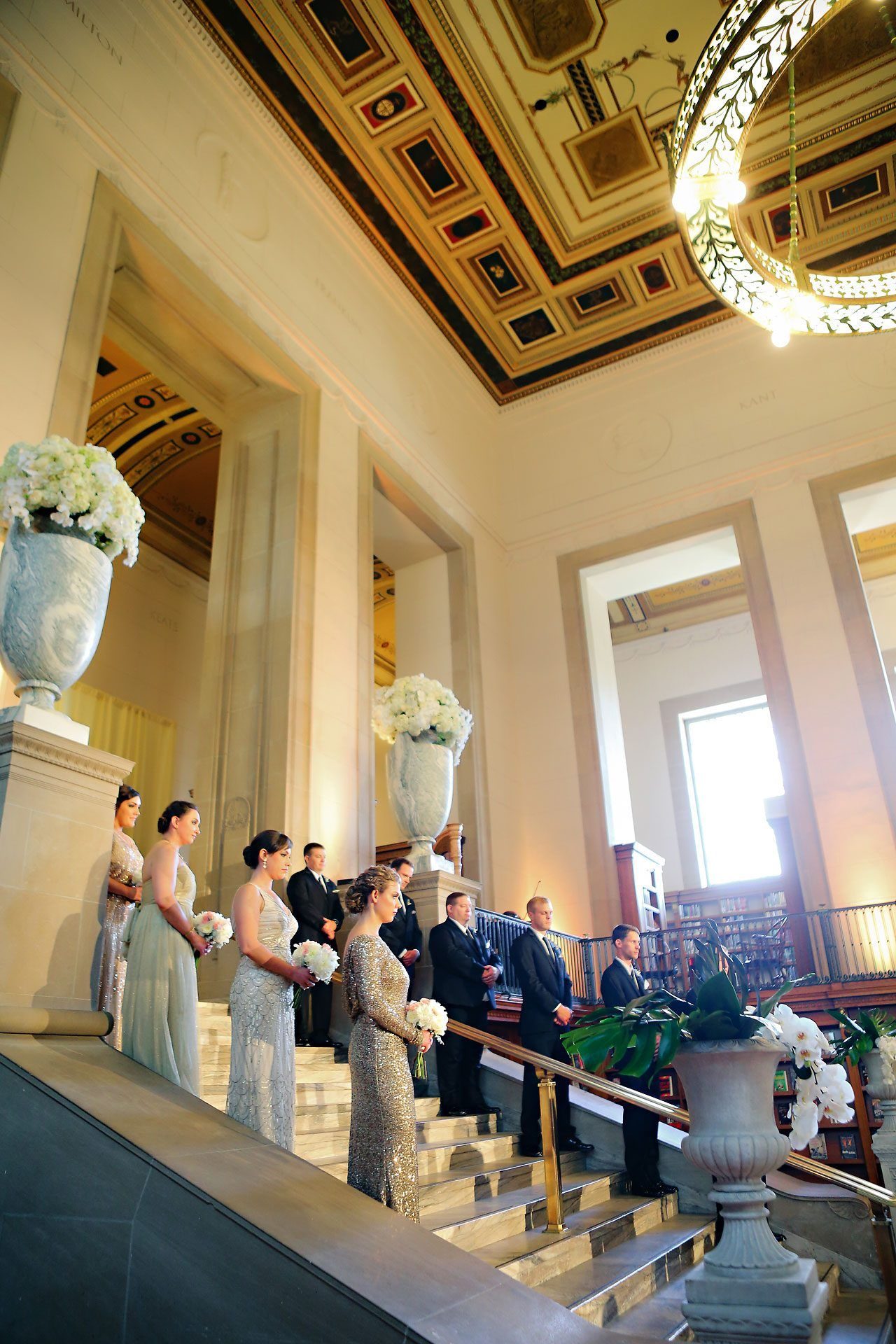 Christine Ryan Indianapolis Public Library Wedding Photos By Jessica Strickland
