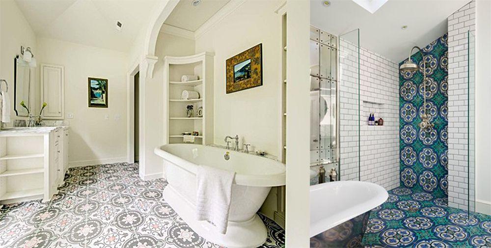 Badezimmer-Designs Marokkanisches Badezimmer: 2018 Badezimmer Trends ...