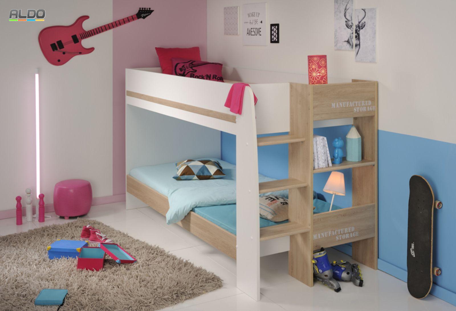 łóżko Piętrowe Family 2337lisu Dla Dwójki Dzieci łóżko