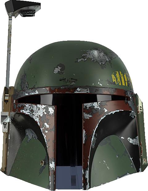 Boba Fett Precision Crafted Helmet Replica Sideshow Collectibles Boba Fett Helmet Boba Fett Empire Strike