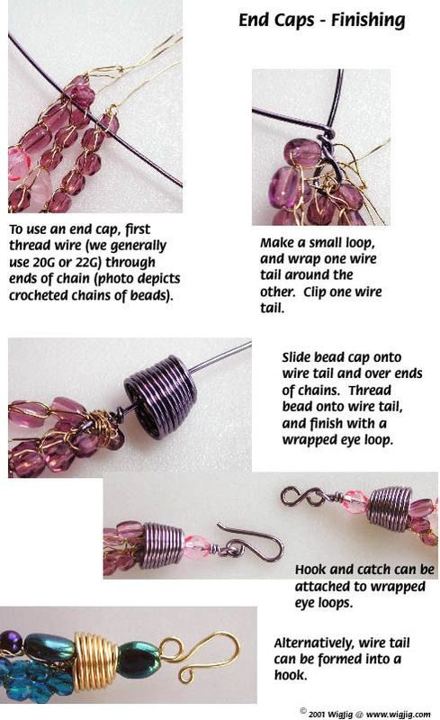 How to Make End Caps Using Jewelry Wire - WigJig Jewelry Making ...