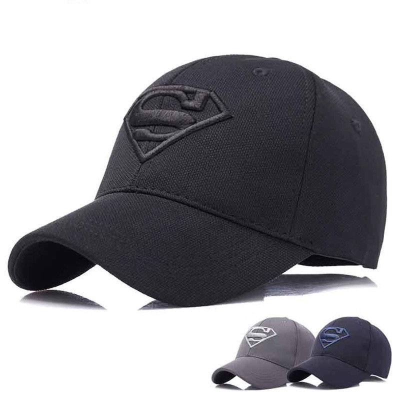 d3ab9dd3ba6c61 $3.4 - Men's Fashion Superman Baseball Cap Outdoor Sunscreen Cap Wild  Leisure Visor Hat #ebay #Fashion