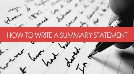 WHY THE SUMMARY ON YOUR RESUME IS SO UBER-IMPORTANT Resume Help - how to write a summary for a resume