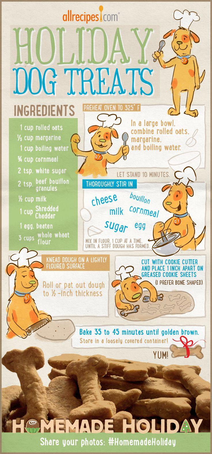 Golosinas para perros hechas en casa - Homemade dog treats