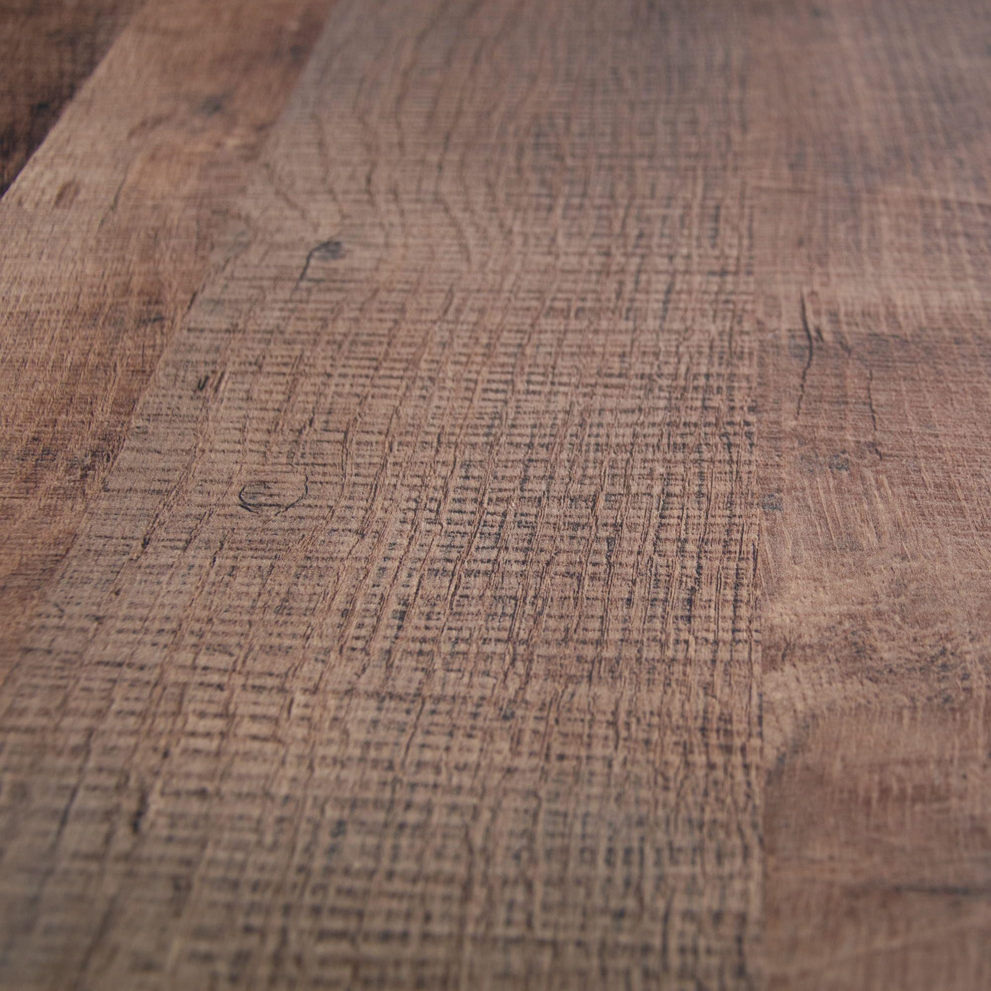 Coffee table LOFT X colonial oak / chrome