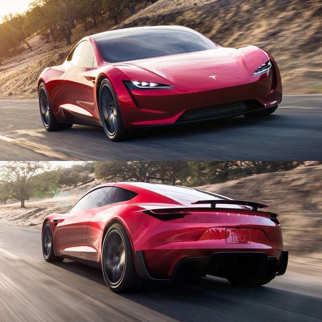 "(@cardesignworld) Na Instagramie: ""2020 Tesla Roadster"