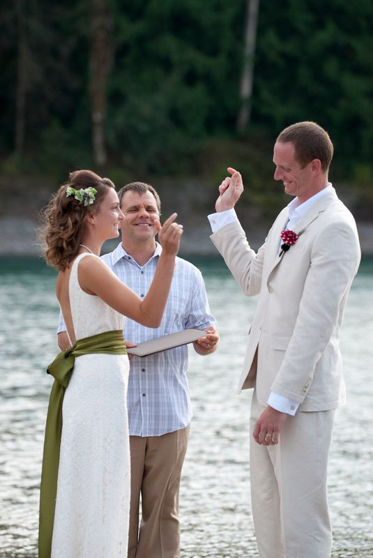 Ceremony: Sealed with a Special Hand Shake by Bailey Nicole Photography of Maryland