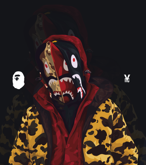 Pin By George Andrew On Supreme Bape Bape Wallpapers Bape Art