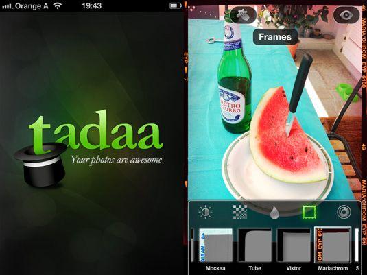 Tadaa iphone 5 app | Photography | Iphone 5 apps, Iphone photo