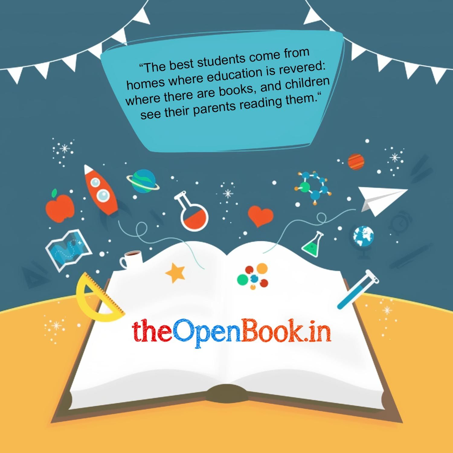 Theopenbook Create Education For Kids The Open Book Is An