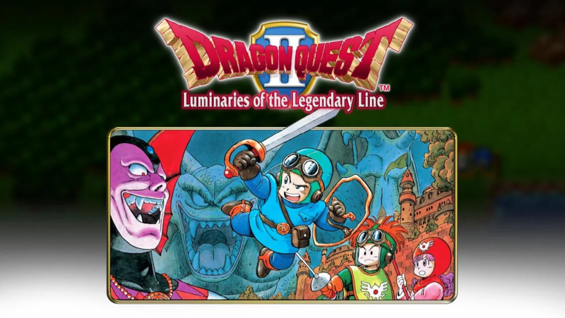 Dragon Quest II Luminaries of the Legendary Line v1.0.1