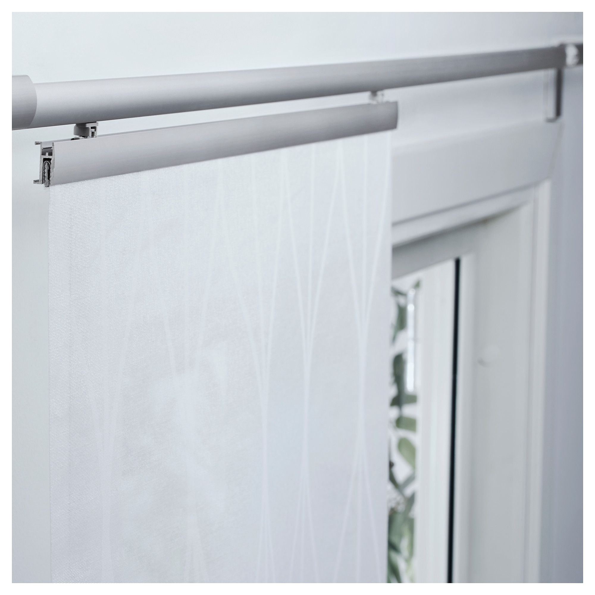 IKEA GRYNET Panel curtain white Sew curtains in Pinterest