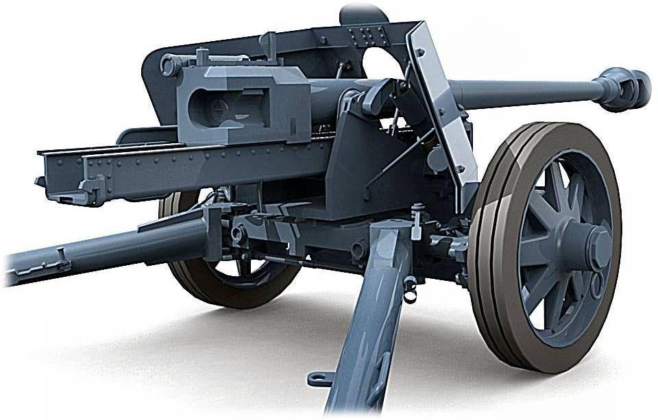 German 50 Mm Anti Tank Gun: Engines Of The Wehrmacht - 75mm Pak 40 Anti-Tank Gun