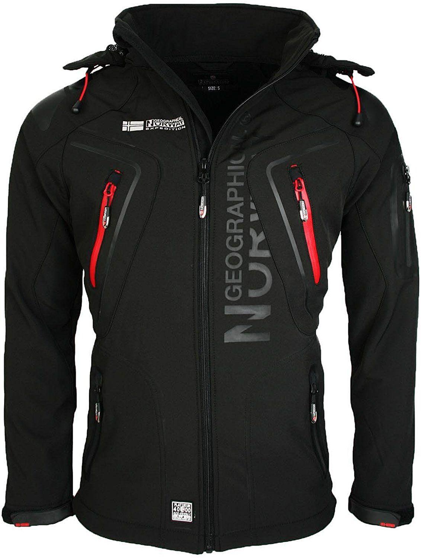 geographical norway giacca uomo nero nero