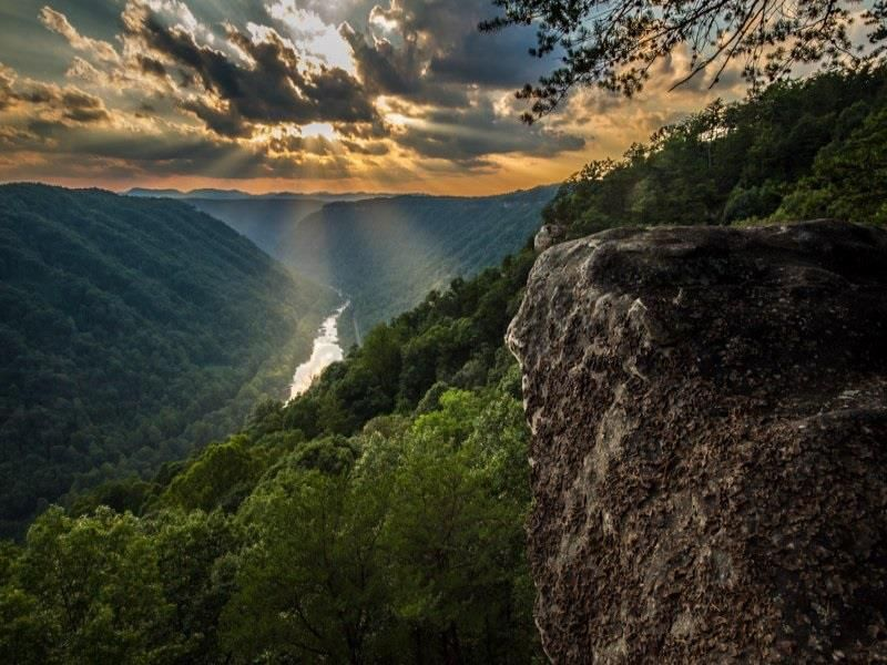 West Virginia in Autumn - Beautiful Travel Photography #