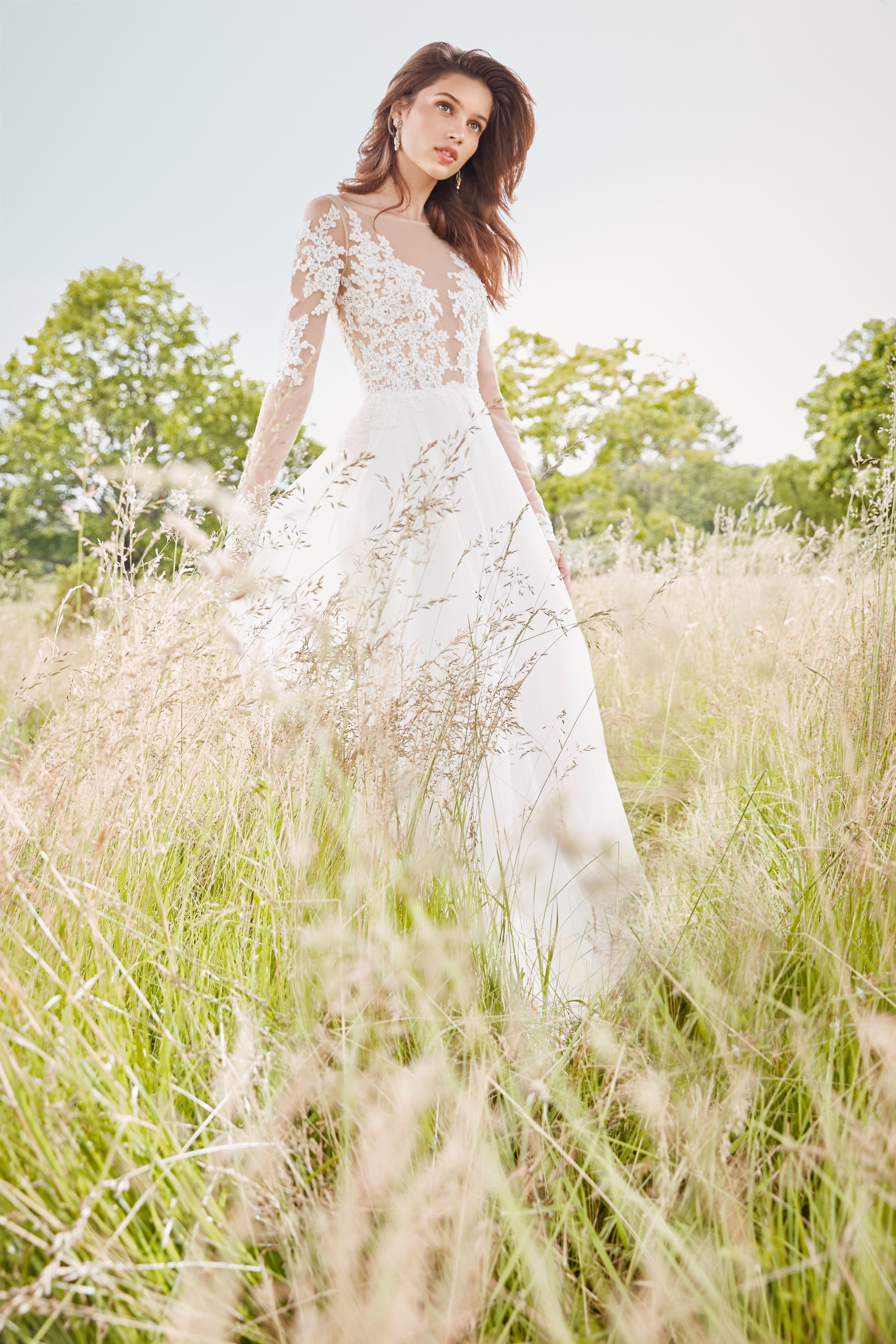 Style 2754 Tara Keely by Lazaro bridal gown Ivory