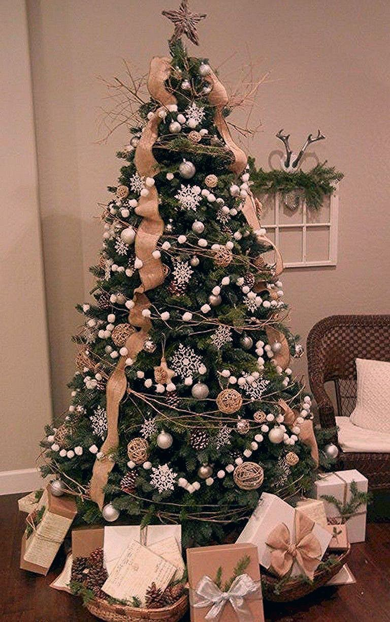 #farmhousechristmastree #christmastreeideas #rusticchristmastree #christmastreealternative #whitechristmastree #christmastreethemes #modernchristmastree #christmastreelights #christmastreeribbon #simplechristmastree #ribbononchristmastreeideas
