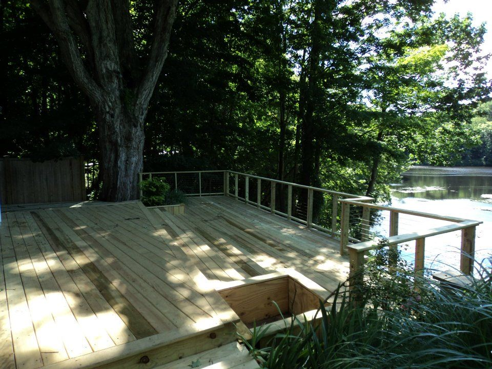 New Deck in Chester CT www.shawremodeling.com #deck #remodel