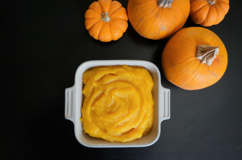 Pumpkin Puree Instant Pot / Pressure Cooker Recipe