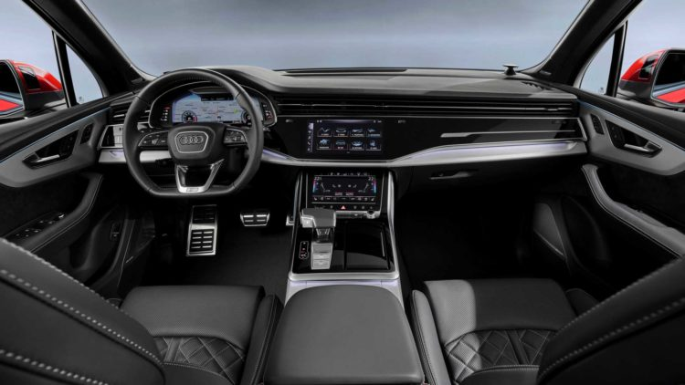 10 Things You Didn T Know About The 2020 Audi Q7 55 In 2020 Audi Q7 Interior Audi Q7 Audi