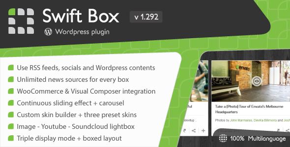 Swift Box - Wordpress Contents Slider and Viewer | ad