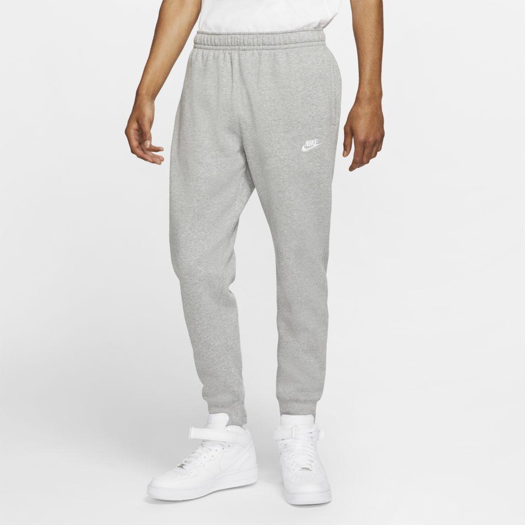 Nike Sportswear Club Fleece Men's Joggers (Dark Grey Heather