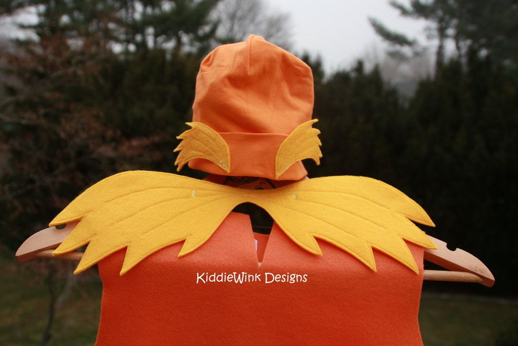 The Lorax Dress-up Costume Lorax, Costumes and Halloween costumes - dr seuss halloween costume ideas