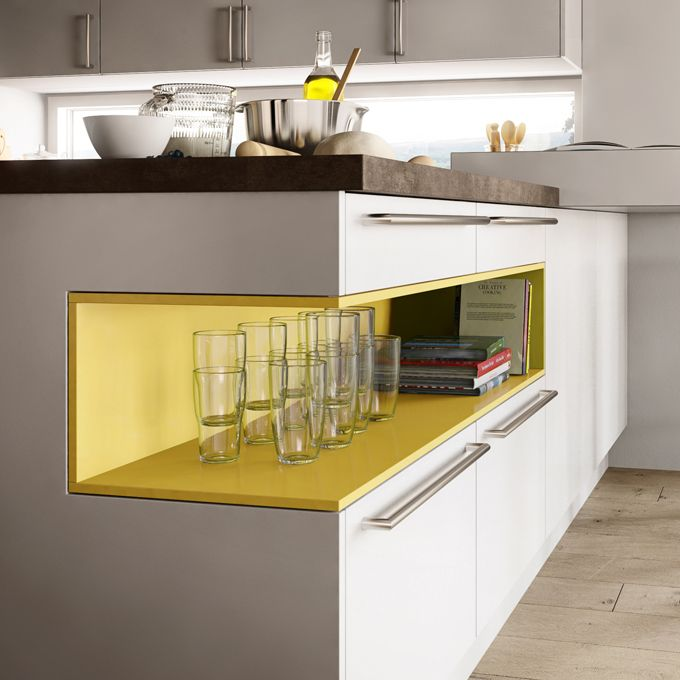 Goldreif by poggenpohl an affordable high quality for Alternative kitchen design ideas