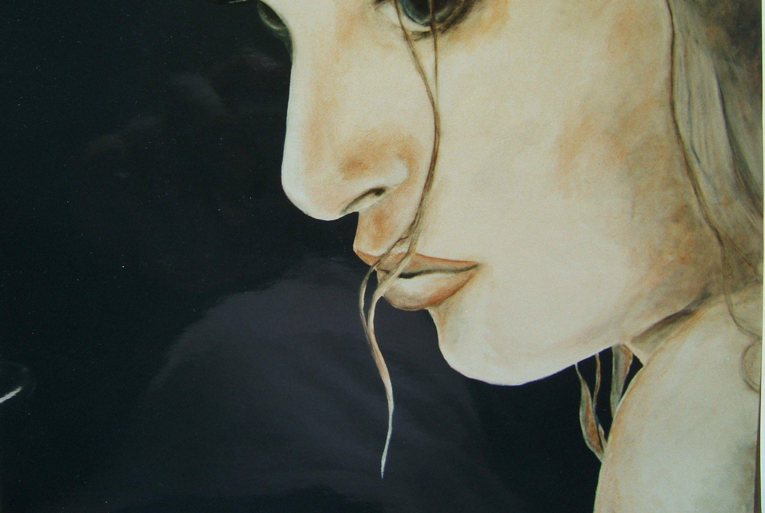 juergen freitag , mädchen acryl auf leinwand,  140 x 90