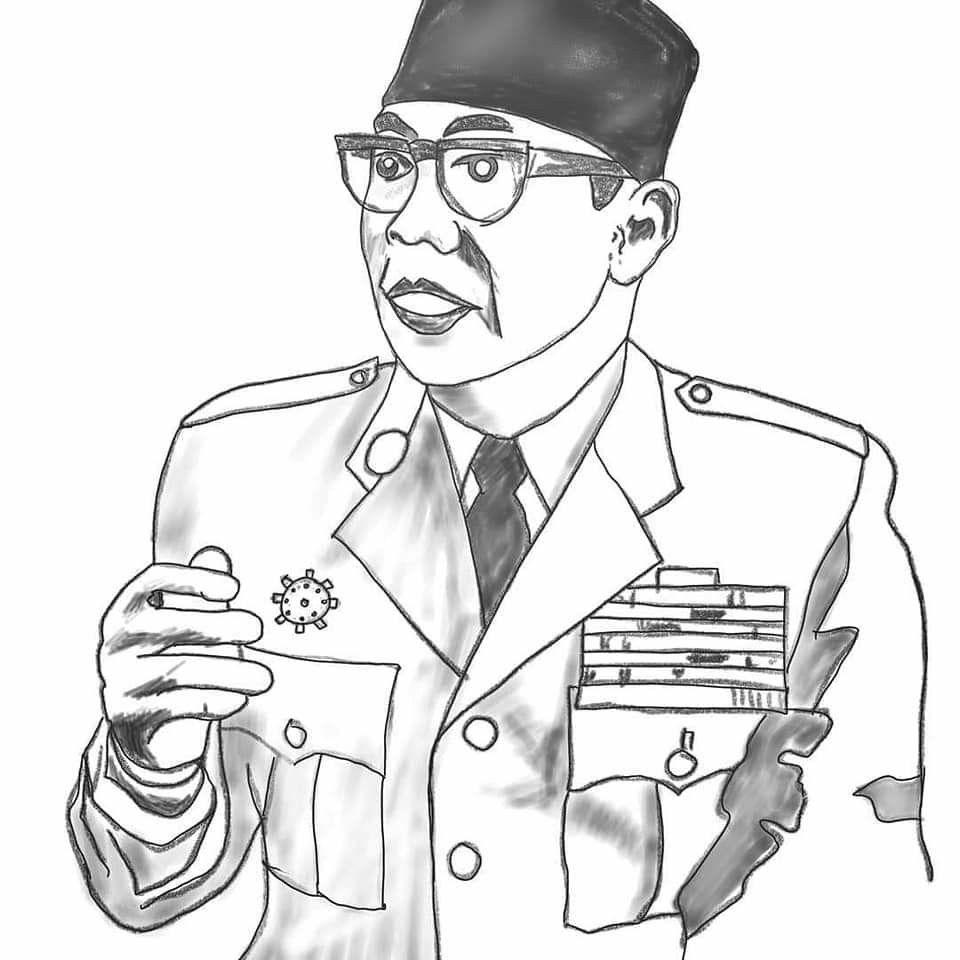 Gambar Pahlawan Soekarno Hatta