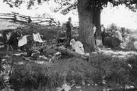 The Vagabonds: Henry Ford, Thomas Edison, Harvey Firestone, John Burroughs 1915-1924 camping!