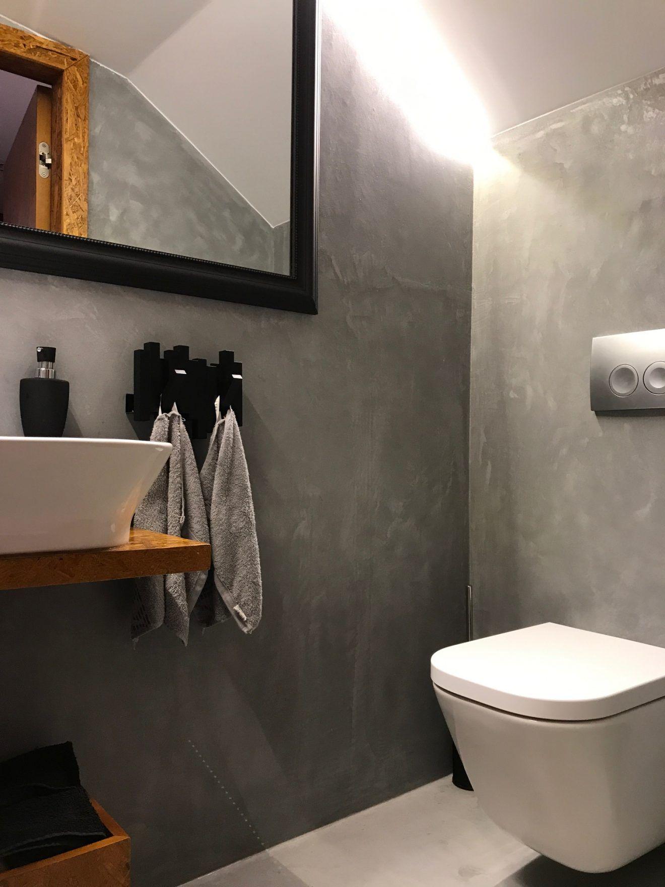 Beton W łazience Teraz Kiedy Surowość Jest Najbardziej