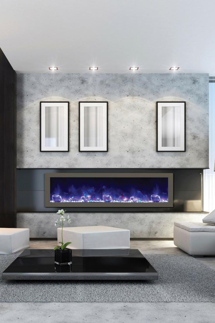 horizontal electric fireplace google search fireplace