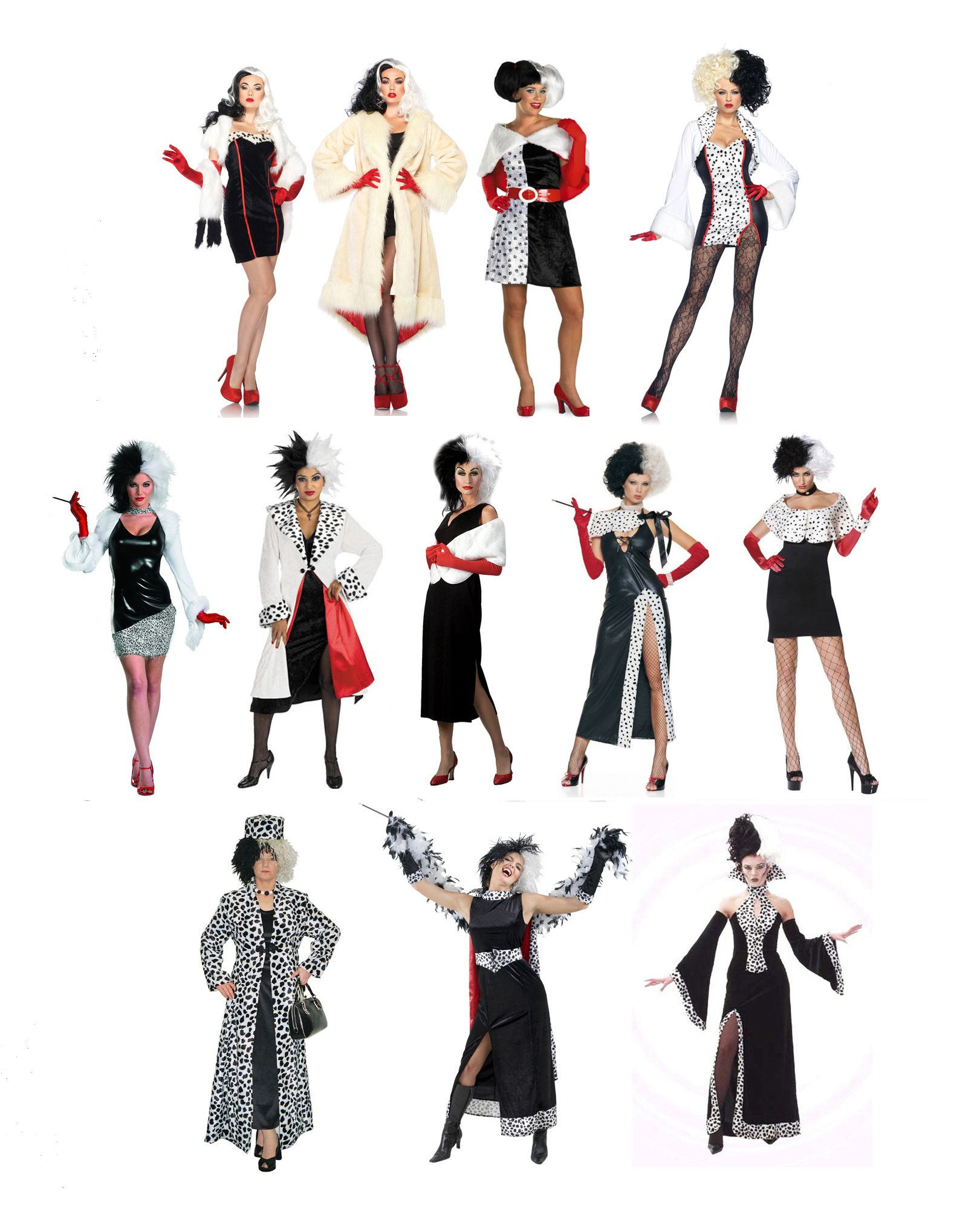 Cruella de vil divina muse pinterest costumes halloween there is absolutely no shortage of cruella de vil costumes solutioingenieria Images