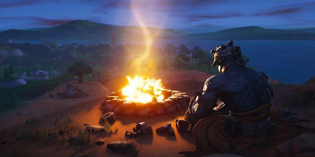 the leaked earthquake event in fortnite appears to already be underway - fortnite earthquake times est