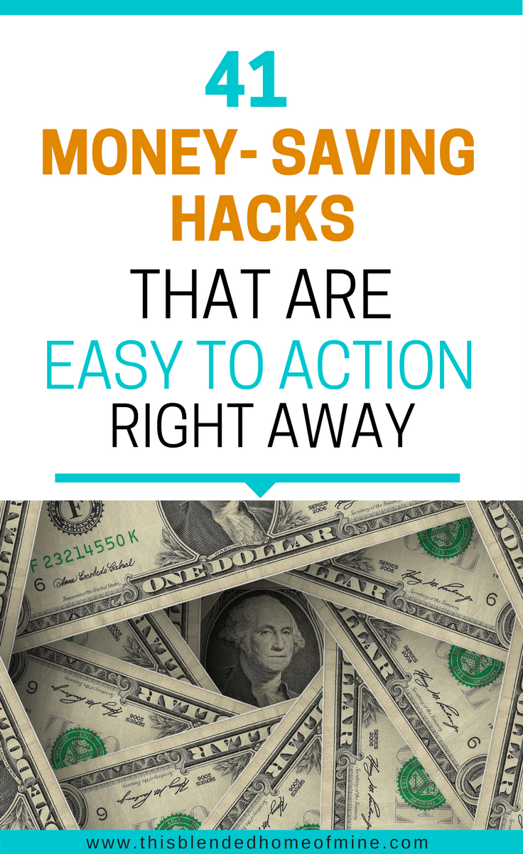41 Easy Ways To Save Money Each Month Saving Money Ways To Save Money Money
