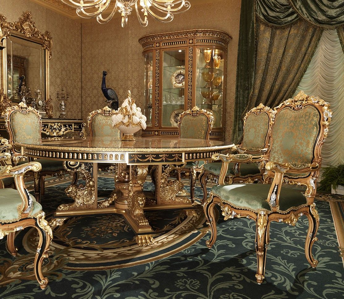 15++ Royal dining table and chairs Best Choice