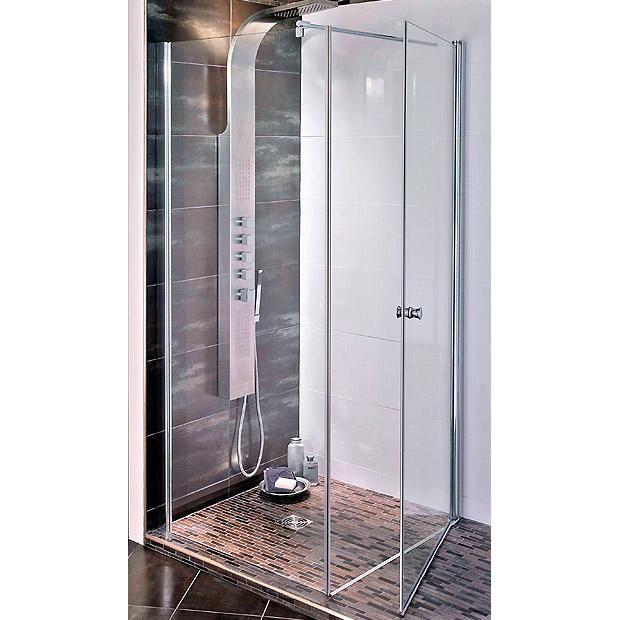 Porte de douche pivotante swing lapeyre with meuble salle - Meuble salle de bain 90 cm lapeyre ...