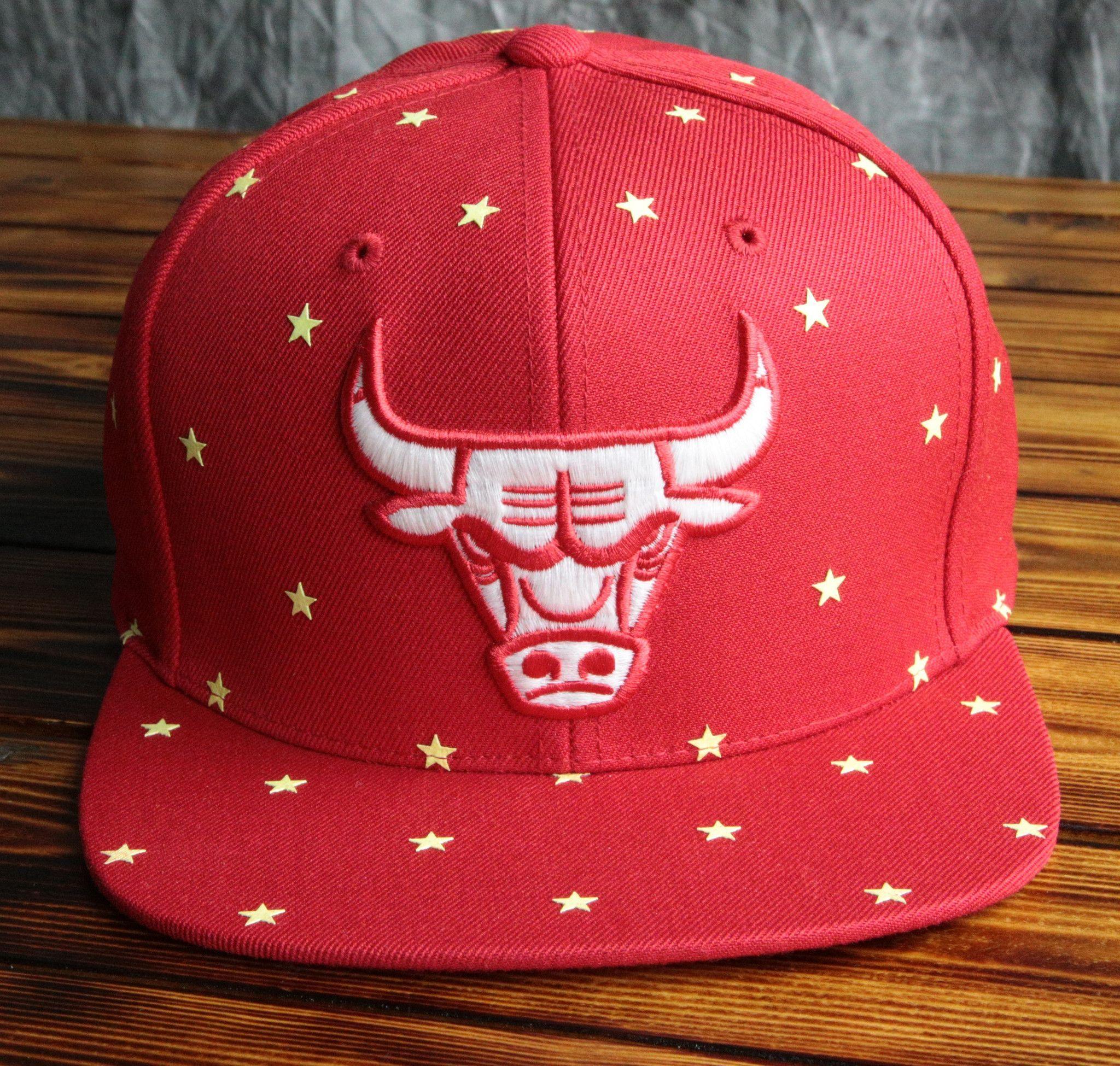 f35c1833 Chicago Bulls Mitchell & Ness Starry Night Glow in the Dark Snapback ...