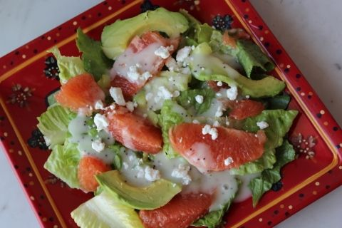 Summer Grapefruit Salad with Homemade Poppy Seed Dressing! Prime Beauty Blog