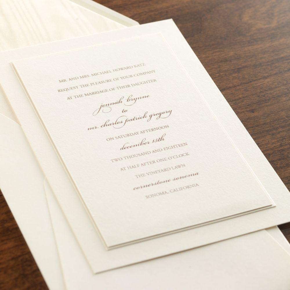 Checkerboard company wedding invitations