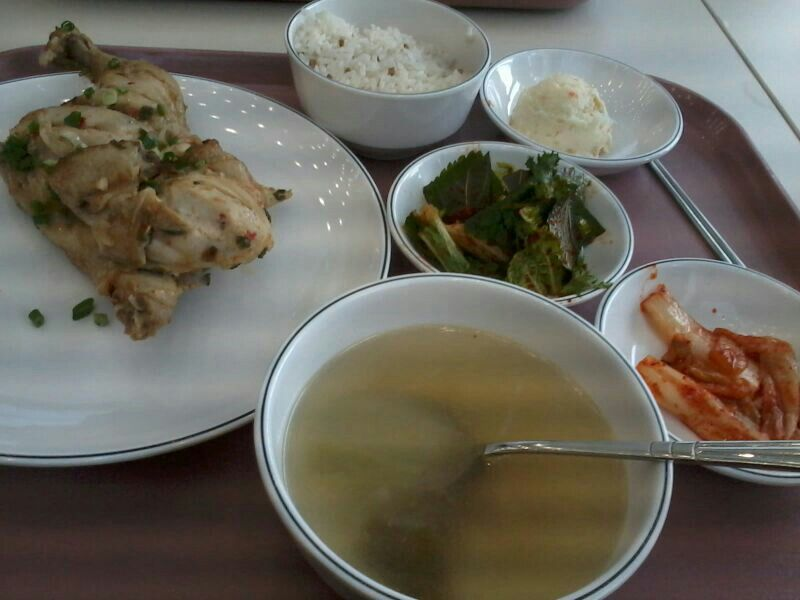 Lunch at Campus